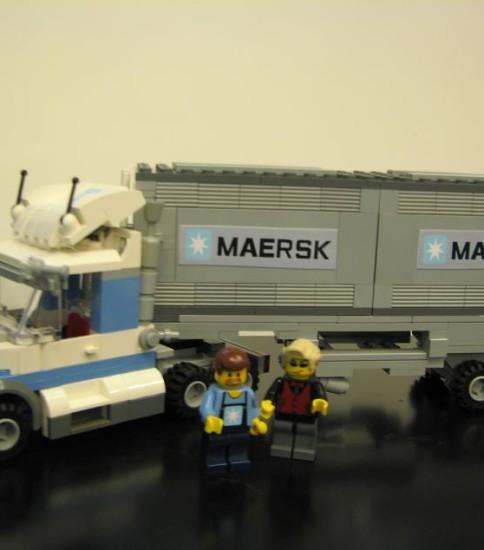 馬士基貨櫃車   Maersk Truck