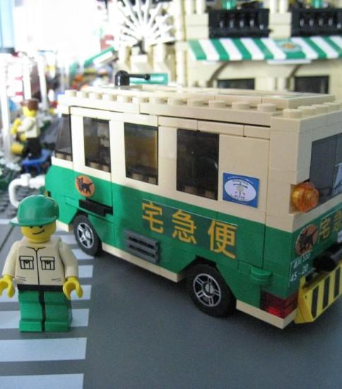 日本大和運輸貨車(黑貓宅急便)   Japanese Delivery Van